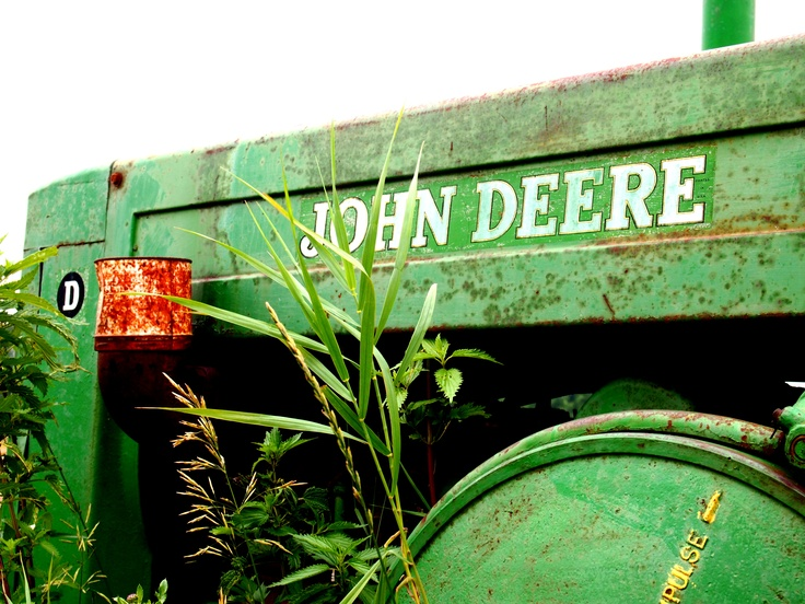 Old #JohnDeere in #Churchbridge #Saskatchewan