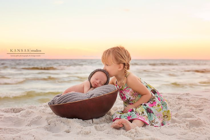 remember baby luke? we did a newborn beach session too!