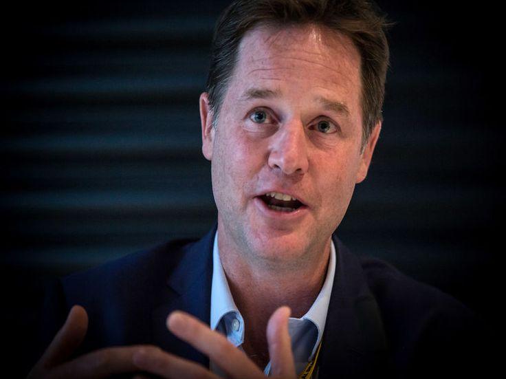 """Nick Clegg: """"Claro que hay una conexión entre Podemos y Donald Trump"""""""
