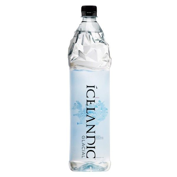 Icelandic Glacial Natural Spring Water 50.7 Oz Plastic Bottles Pack of 12