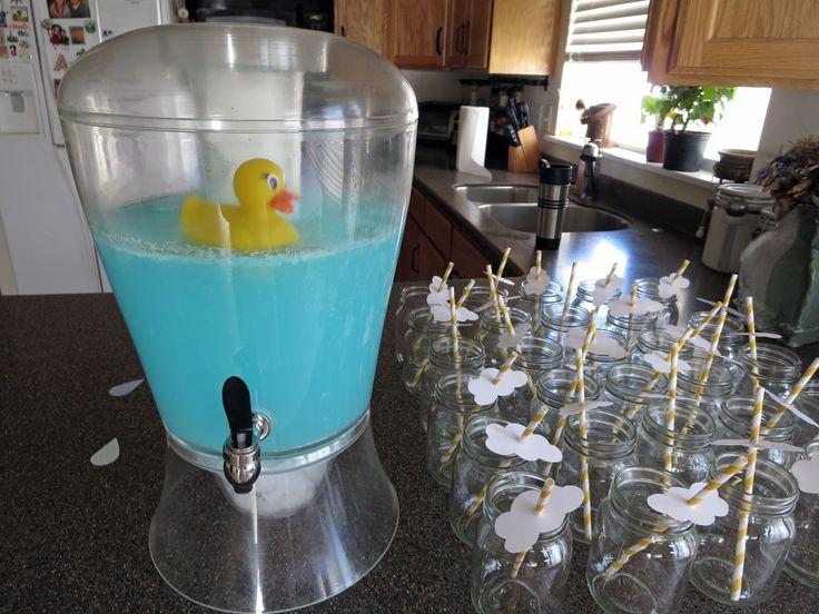 Ducky Baby Shower Punch Part - 20: Rubber Ducky, Blue Baby Shower Punch Ahhhhh Love This @Kelly Teske  Goldsworthy Teske Goldsworthy