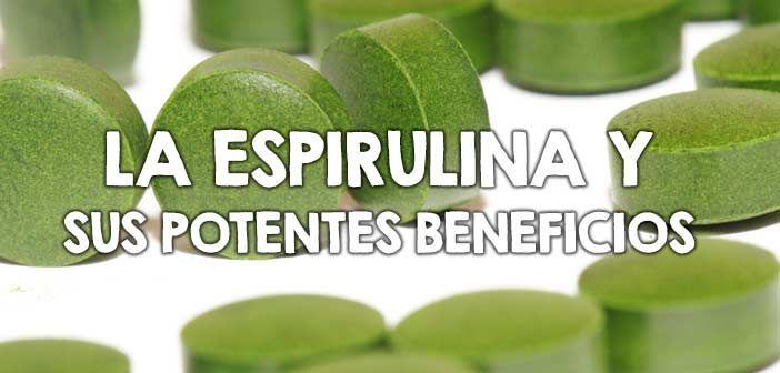 La espirulina ayuda considerablemente a perder peso, es un excelente antioxidante, antinflamatorio y reduce el colesterol, descubre todos sus beneficios.
