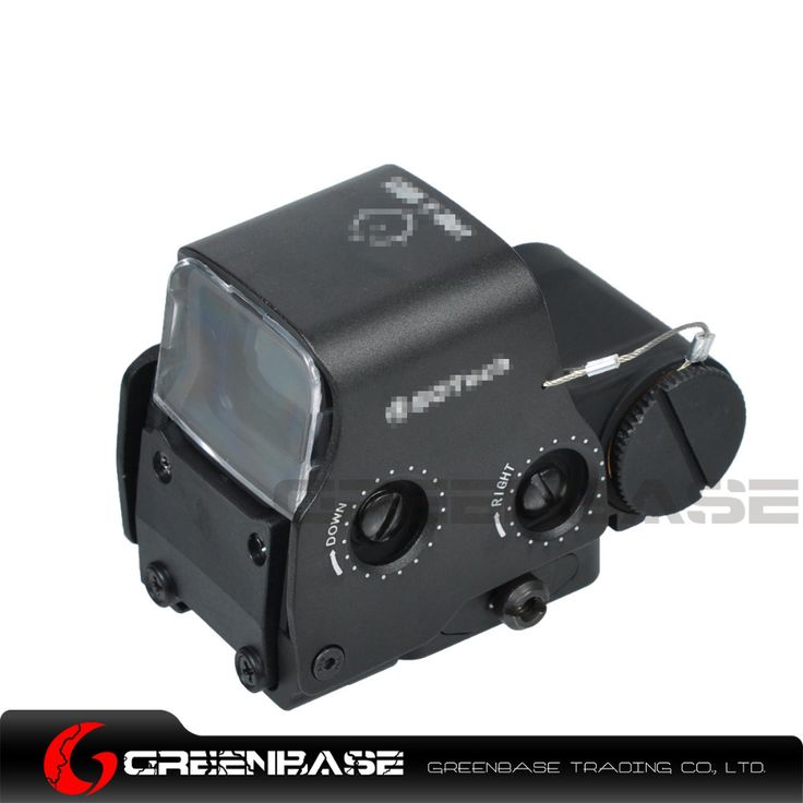 Greenbase Tactical Airsoft Protective Lens Cover Eotech 551 552 553 557 Holographic Sight Paintball Huntiing Scope Cover