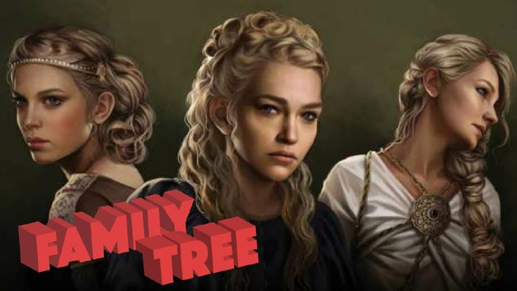 Targaryen Family Tree - Game of Thrones - YouTube