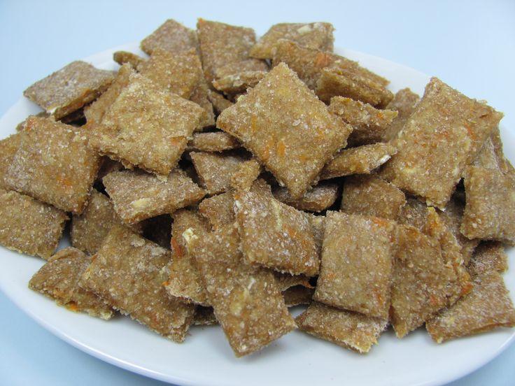Homemade Dog Treats: Apple Carrot Bits