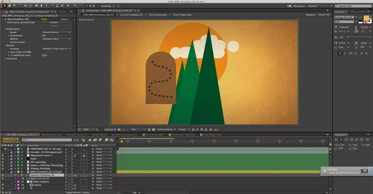 WWF Cerrado Print Screen  Motion Graphics / After Effects