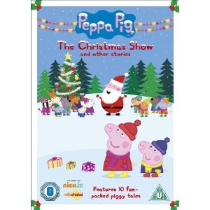 The perfect Christmas gift for the kiddies - Peppa Pig: The Christmas Show on DVD!
