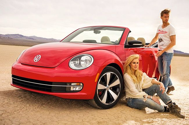 The Beetle Cabriolet is unashamedly style-focused, but it's stable and nimble enough to satisfy in everyday driving. There's plenty of space in the front seats, and the boot is a decent size