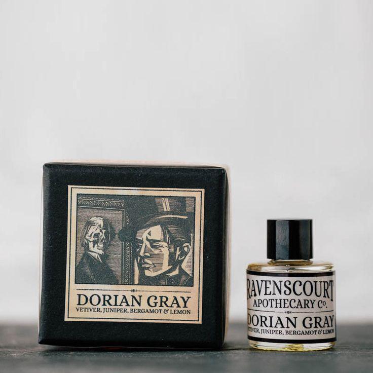 """Pánská kolínská """"Dorian Gray"""" • vetiver, jalovec, bergamot a citron – HNST.LY"""