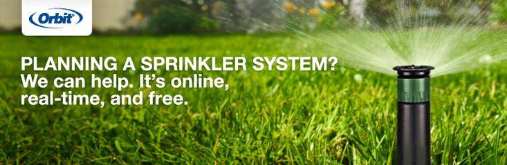 Die besten 25 sprinkler installation ideen auf pinterest Irrigation system design home depot