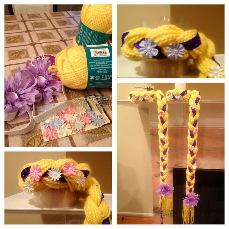 Tangled. Rapunzel. Birthday headband