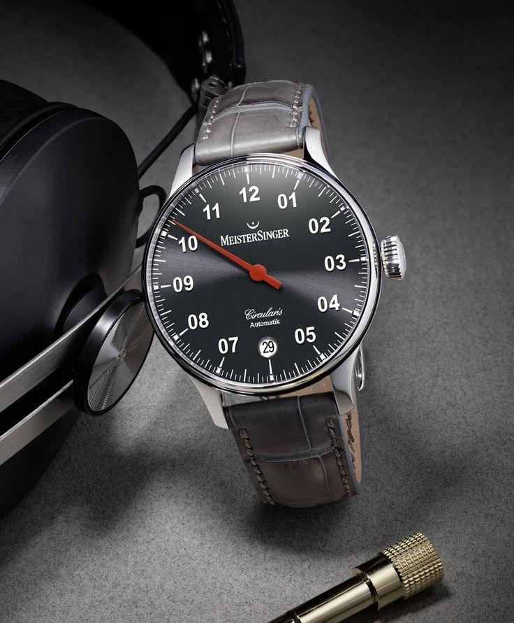 Meistersinger: Circularis Automatik » Das Uhren Portal: Watchtime.net