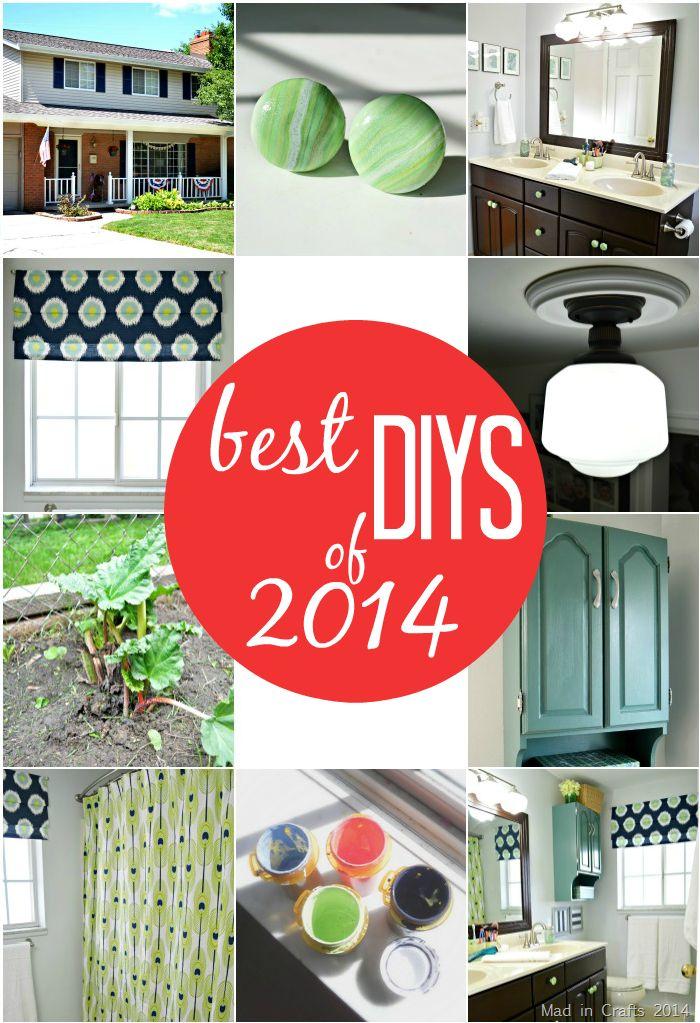 Mad in Crafts Best DIYs of 2014