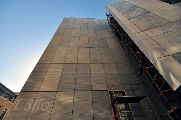 Precast concrete panels add lustre to no 1 silo not for Precast texture