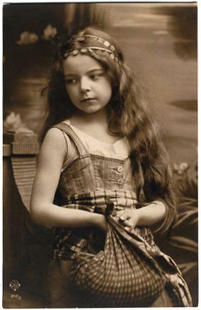 Vintage Image Children/sent by Shauna Palmer