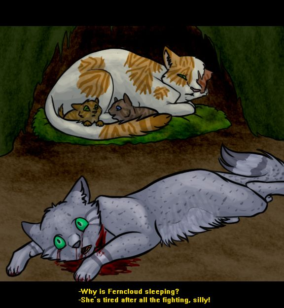 Warrior Cats Dead: The Last Hope SPOILERS :Ferncloud: By ArtistStallion On