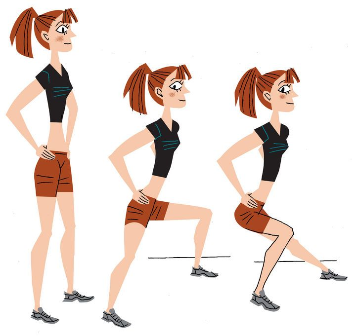 Jeans-butt workout: Lateral lunges