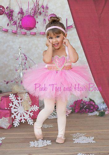 Ballerina tutu dress Nutcracker tutu dress by GlitterMeBaby on Etsy, $65.00