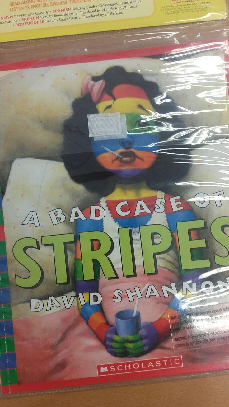 A bad case of stripes. Bilingual