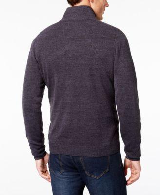 Weatherproof Vintage Men's Half-Zip Sweater - Gray XXXL