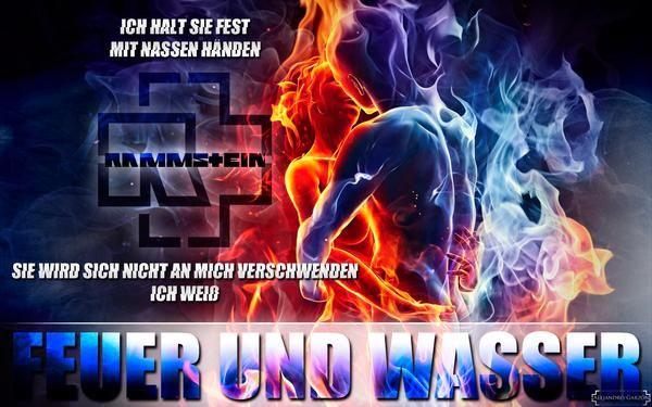 Feuer Und Wasser Wallpaper By Rammsteingarzon In 2020 Feuer Nass Wasser