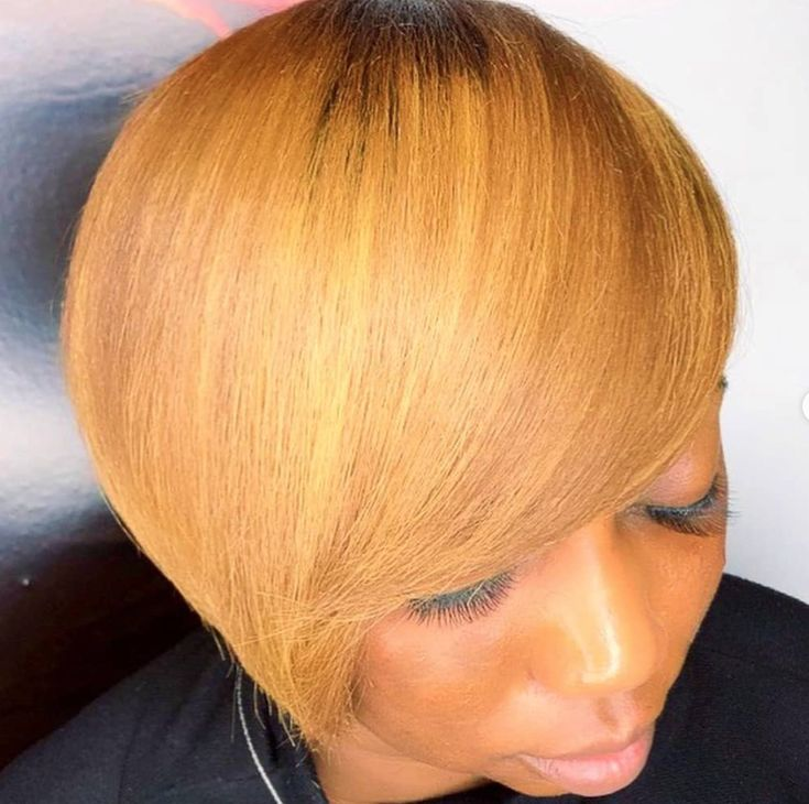 Nice short bob by @theofficialrazorchic - blackhairinformat...