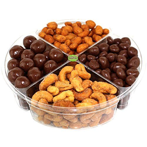 Great Premium Gourmet Nuts Gift Basket, Assorted Healthy Mix, Fresh and Roasted., ,