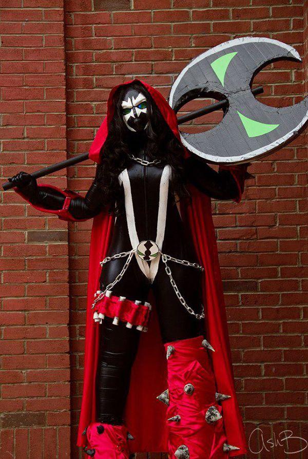 Viciously Fantastic Lady Spawn Costume