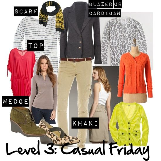 Working Mom Outfits Level 3: Casual Friday - Working mom style advice