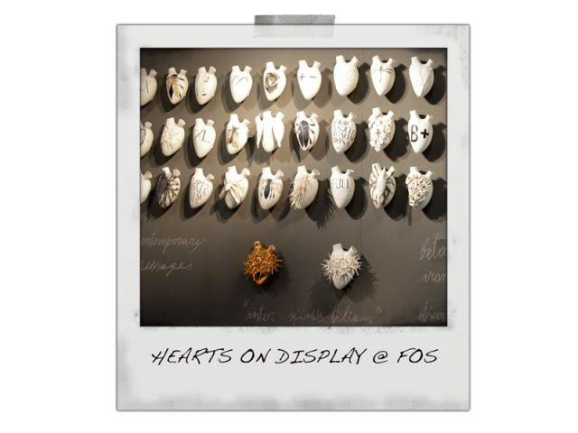 Fos Heart display - very heartwarming !
