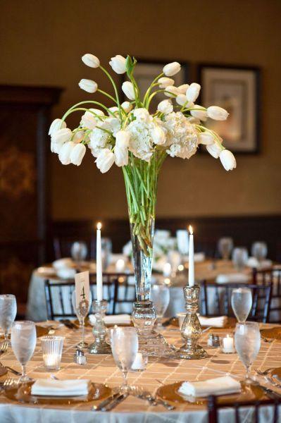 tall centerpiece - tulipsOutdoor Wedding, Tall Centerpiece, Floral Design, French Tulip, Spring Wedding, Tulip Centerpieces, Wedding Centerpieces, Tall Tulip, White Tulip