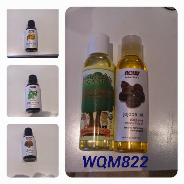 My favourite oils,get them on iherb,use my code WQM822 for some discounts :)