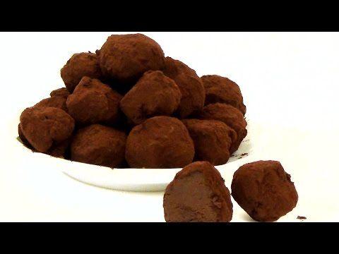 Лучшие домашние конфеты. Шоколадные трюфели. - YouTube