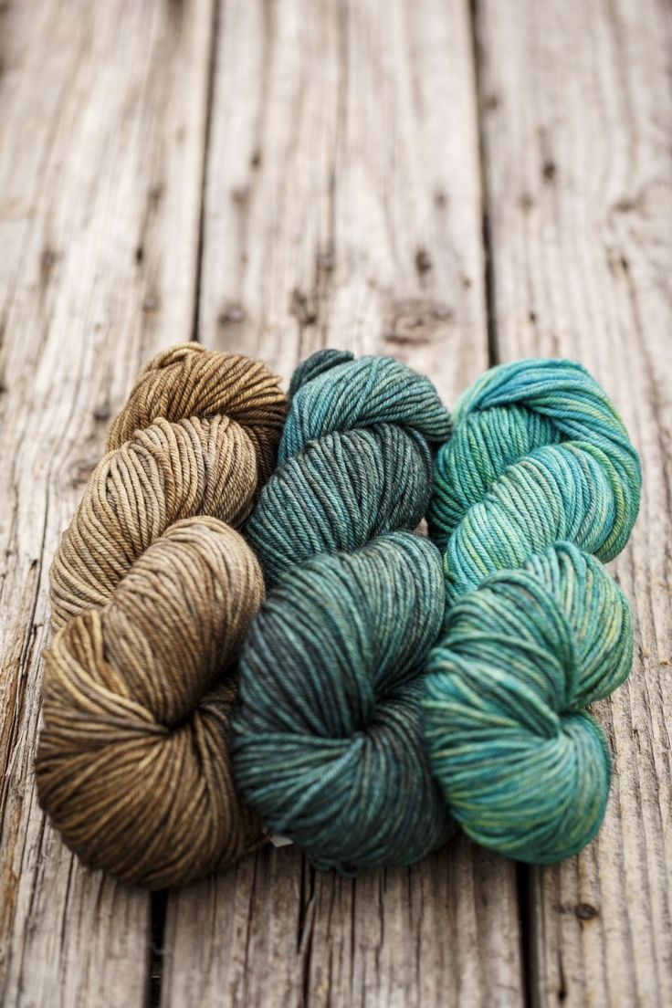 Colour inspirations using Vivacious DK by Fyberspates