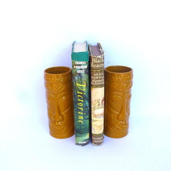 Vintage World Market TIKI GLASSES/ Pair