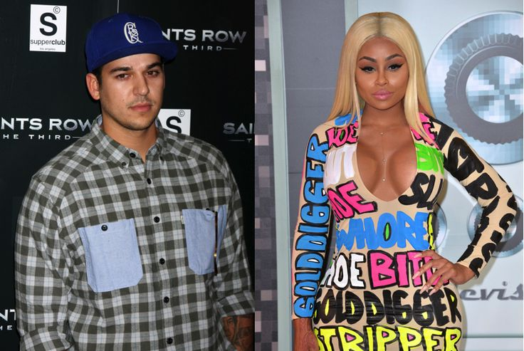 The Petty Olympics Continue: Blac Chyna Tweeted Out Rob Kardashians Number