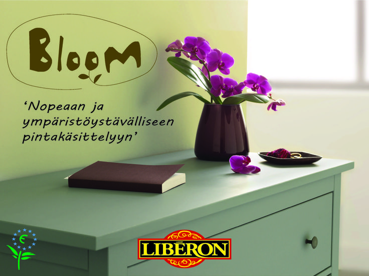 Libéron Bloom http://colornova.fi/
