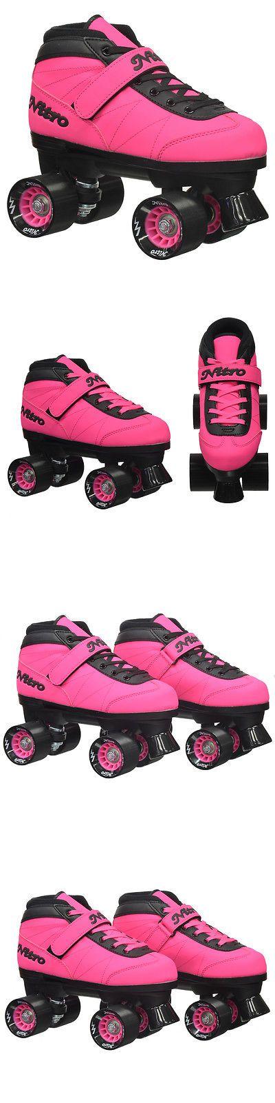 Men 71155: Epic Nitro Turbo Pink Quad Speed Roller Skates -> BUY IT NOW ONLY: $79.99 on eBay!