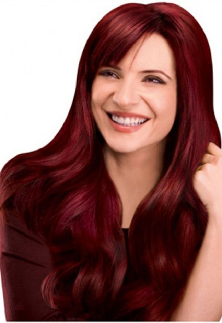 Dark Red Hair Dye For Blondes | Hair Colour Your Reference ...