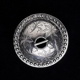 conical brooch (sölg) by Toomas Tava