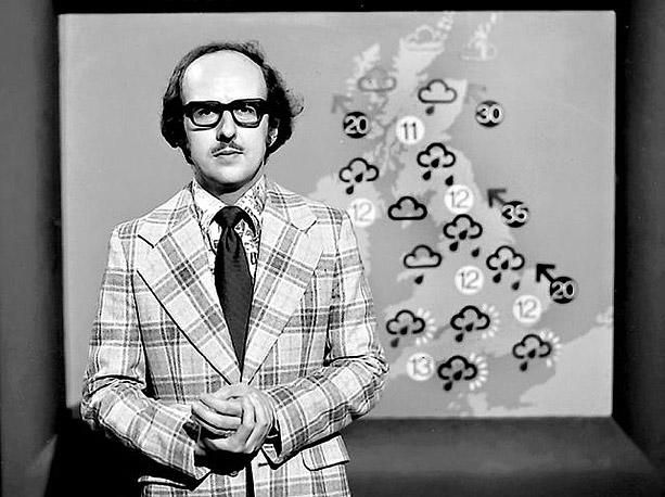 Michael Fish, weatherman who was never allowed to forget the '87 hurricane lol!