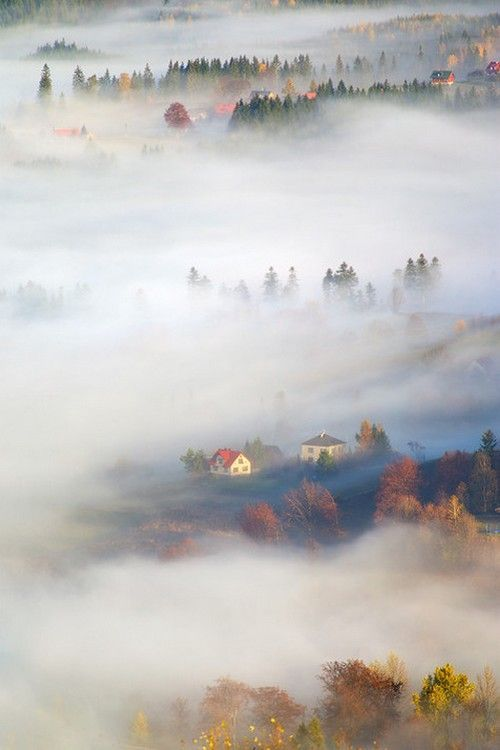 Beskidy mountains, Poland by Marcin Sobas