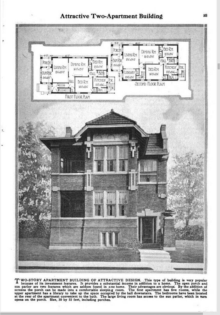 17 best images about old house multi families on for Builder magazine house plans
