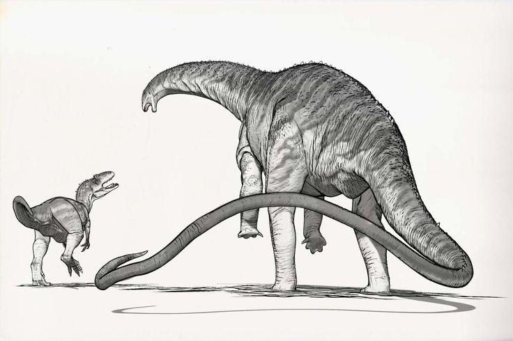 Draw Dinovember Day 17 Apatosaurus, Raul Ramos on ArtStation at https://www.artstation.com/artwork/Qx4l8