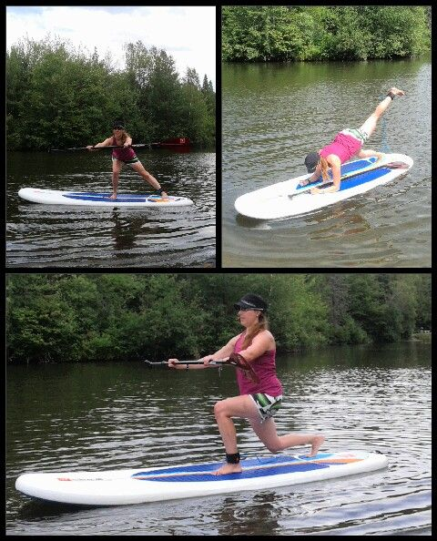 ♥ SUP Fitness with my Red Paddle board