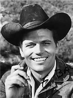 "Patrick Wayne. Always wondered what he could have become if he hadn't been John Wayne's son. Was downright ""pretty"" as a young man, distinguished as he got older."