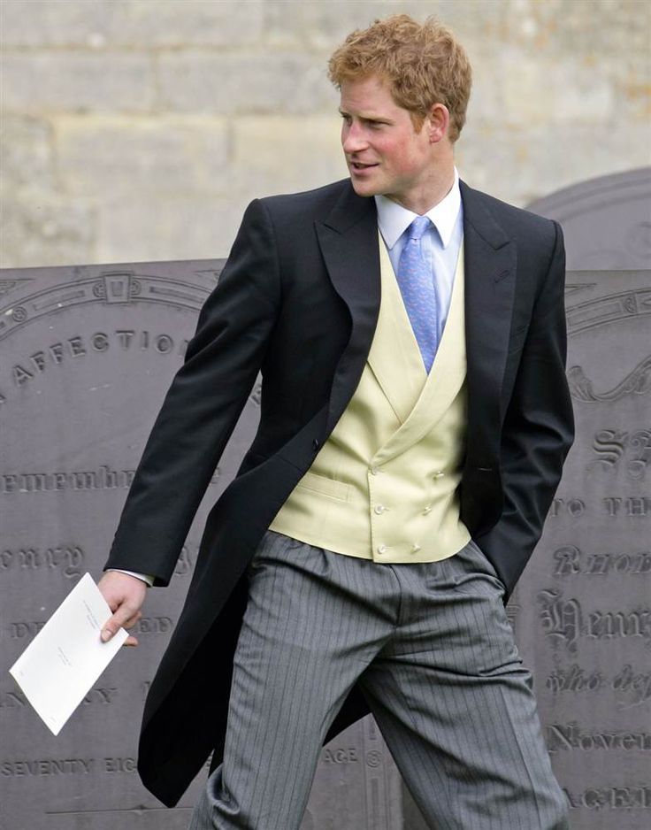 Wedding guest prince harry attends the wedding of emily for How to dress for a morning wedding