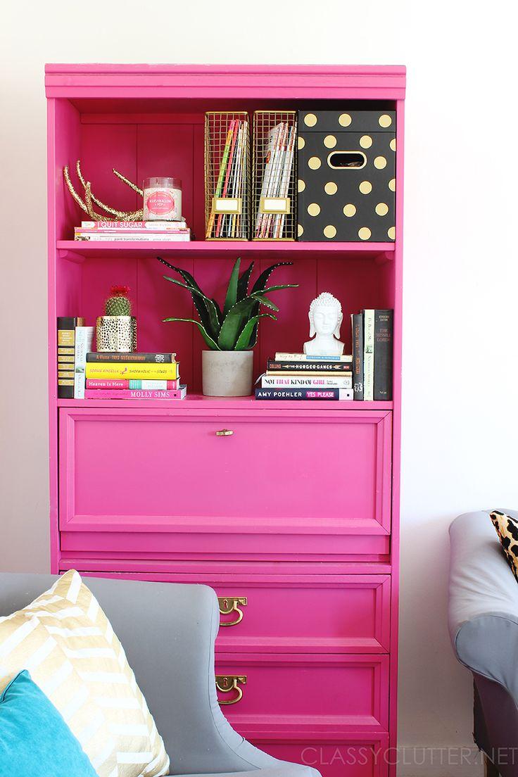 Best 25 Pink Bookshelves Ideas On Pinterest Ikea Small