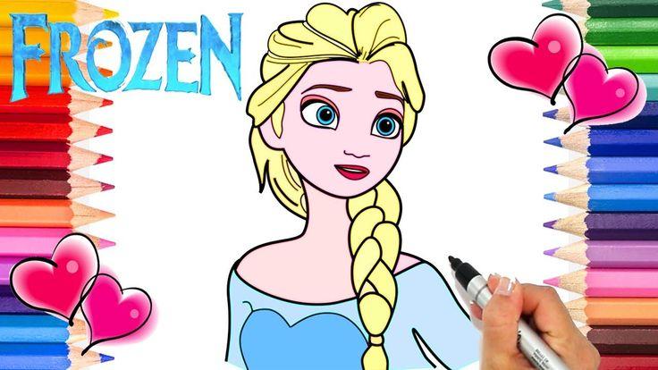 25 Einzigartige Ausmalbilder Anna Und Elsa Ideen Auf
