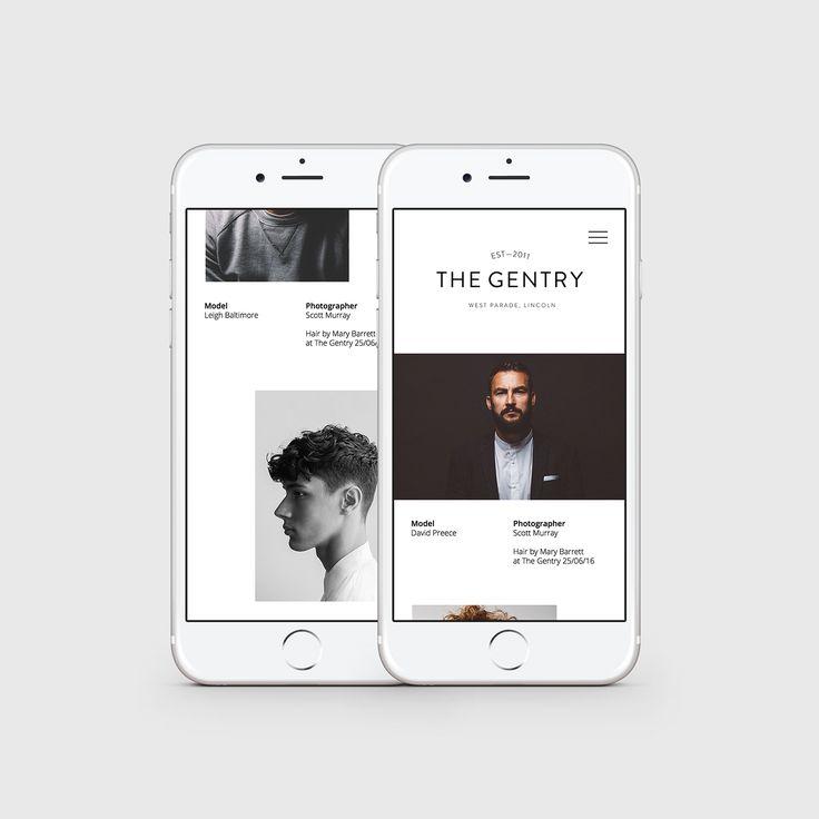 The Gentry 2016 Website on Behance